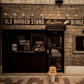 MCLEAN ‐old burger stand‐