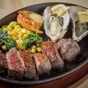 海鮮牡蠣×ステーキ 11丁目の5坪