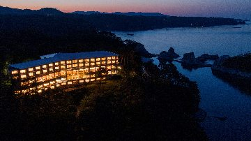 浄土ヶ浜パークホテルダイニングレストラン 最東端