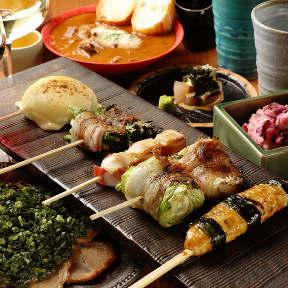 串焼き 野菜巻き専門店 九四八