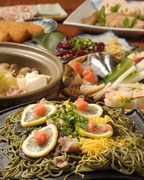 やまぐち料理と地酒 福の花湯田本店