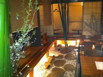 個室庭園空間 禅楽(あぐら)