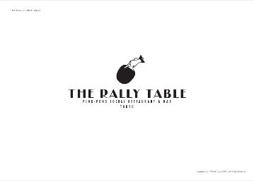 The Rally Table 渋谷