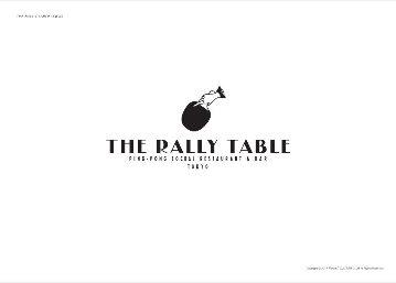 The Rally Table 渋谷