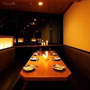 夜景と個室dining 炙り肉寿司と鍋こころ 梅田店