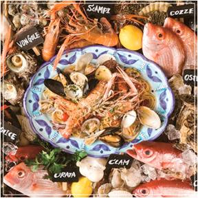 魚イタリアンと薪ピザチロンボマリーナ