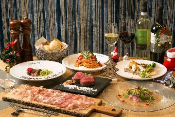 炭焼きとフィレ肉とワインのビストロ&farms