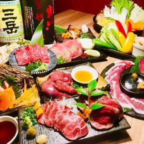 和牛肉刺しと網焼きichijiku(イチジク)日吉