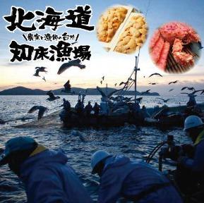 知床漁場プロデュース 炉端焼き とろ函~とろばこ~堅田店