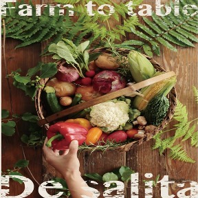 Farm to table De salita