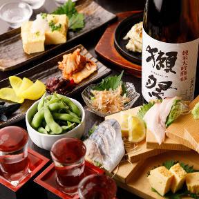 お席で吸える 鮮魚と日本酒魚ぽん大蔵 池袋本店
