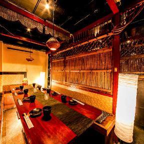 全席個室 九州地鶏居酒屋肉寿司×焼鳥食べ放題 炭鶏 新宿店