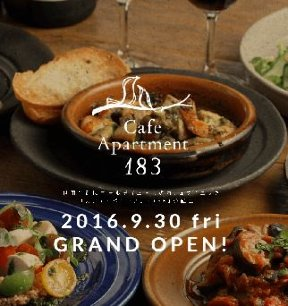 Cafe Apartment 183