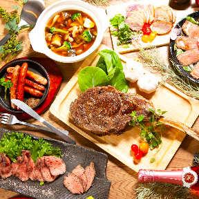 【完全個室】全品食べ放題&無制限飲み放題肉屋次郎 新橋本店