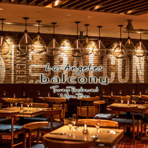 Los Angeles balconyTerrace Restaurant & Moon Bar