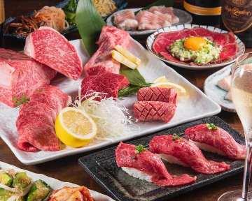 焼肉食べ放題×韓国料理焼肉市場