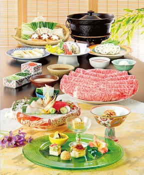 しゃぶしゃぶ 日本料理 木曽路八尾店