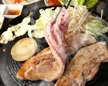 韓国焼肉・サムギョプサルどやじ