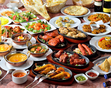 インドレストラン ガンジスあべのキューズタウン店