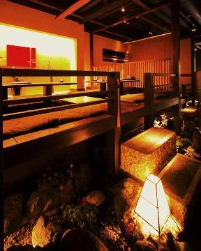 個室で炙り肉寿司を食らう今昔物語 名古屋栄店