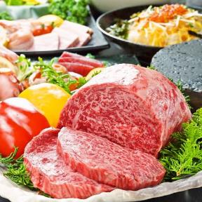 個室 黒毛牛焼肉食べ放題 かるび家梅田店