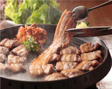 サムギョプサルと野菜 いふう銀座マロニエゲート1店