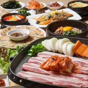 韓国酒家・韓国家庭料理 韓の香南2条HUGマート店