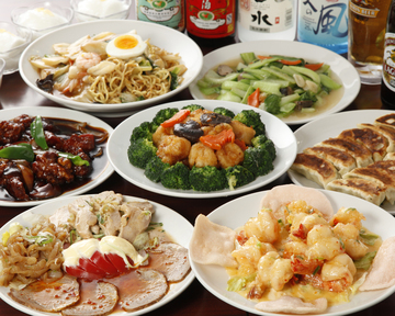 中華食べ放題 順順餃子房秋葉原2号店