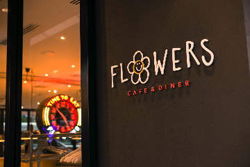 FLOWERS CAFE&DINER