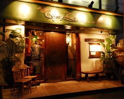ブラジル音楽と料理の店「サッシペレレ」
