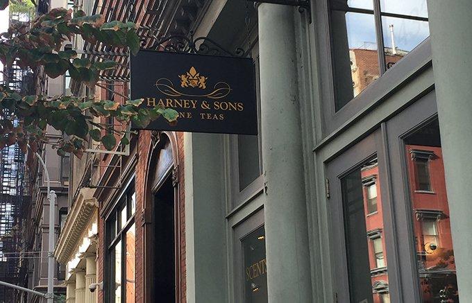 ニューヨーカーが愛する最高級のティー・ブランド「ハーニー&サンズ」