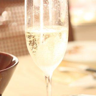 国産スパークリングワイン 嘉yoshi スパークリング シャルドネ