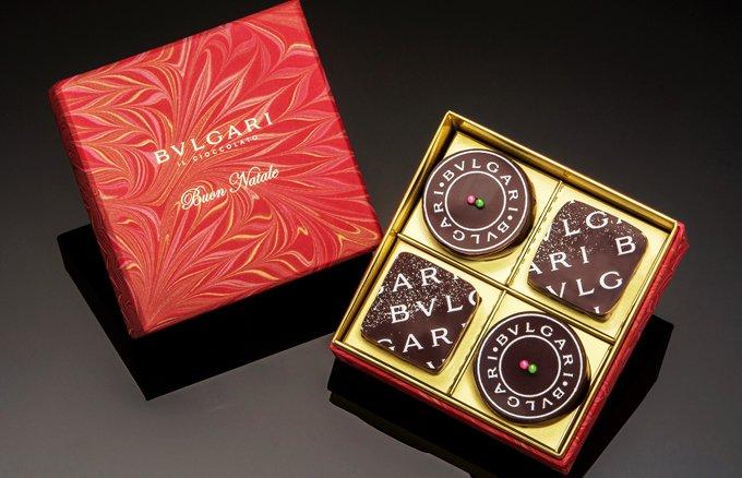 聖夜にBVLGARI「チョコレート」の宝石を