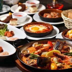 浜松で美味しいスペイン料理・パエリア、パスタ・ …