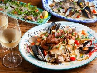 お好みの鮮魚と調理法を選んで堪能!上野駅近で注目の新店イタリアン食堂の記事で紹介されました