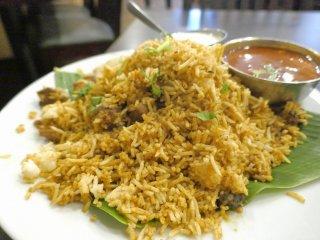 旨辛でクセになる「ビリヤーニー」が毎日楽しめる!神田の南インド料理店の記事で紹介されました