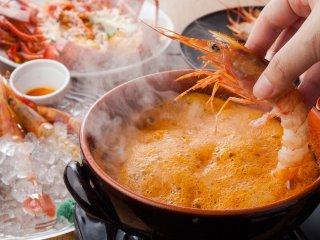 生海老食べ比べに海老しゃぶも!海老好きのための海老専門店がオープン!の記事で紹介されました