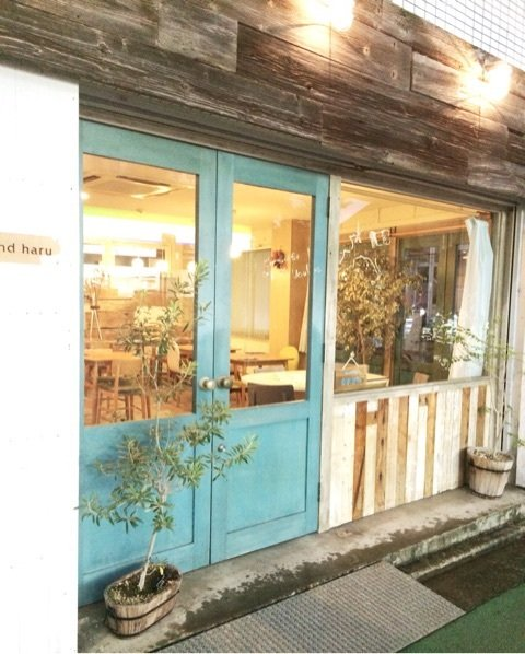 cafe Haru&haruの外観写真