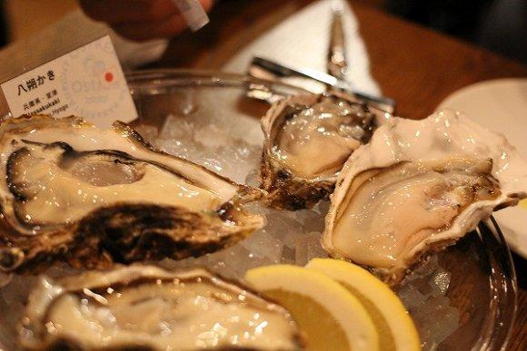オストレア新宿三丁目の生牡蠣