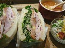 人気上昇中!自家製ハムの極厚サンドイッチが美味しい昨年オープンの新店