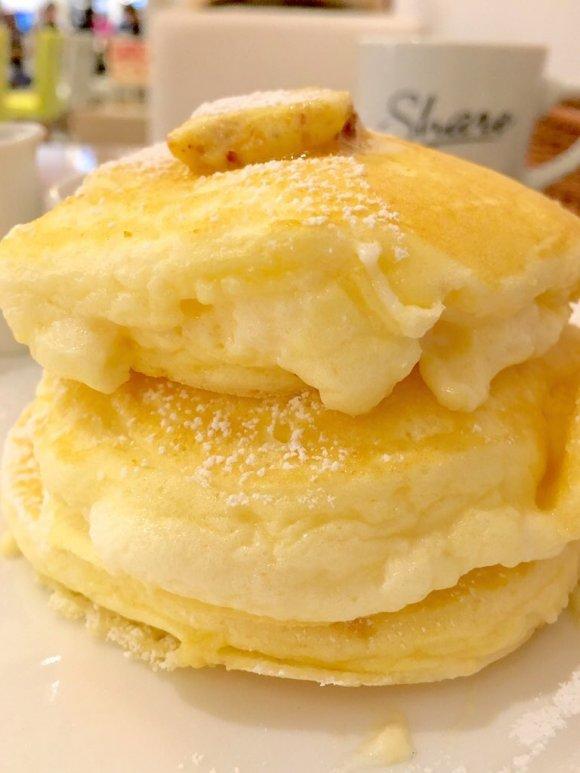 究極のふわとろ食感を厳選!ふわふわとろとろのパンケーキ4選