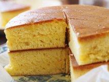 焼き上げに1時間半!総重量2kgの巨大ホットケーキに挑戦!