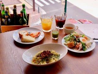 900円で産地直送野菜が食べ放題!イタリアンレストランのパスタランチの記事で紹介されました