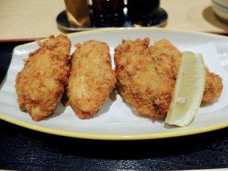 濃厚な牡蠣の旨味が溢れる!広島産大粒カキフライランチが旨い人気和食店の記事で紹介されました