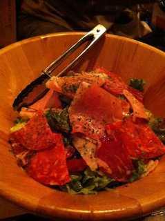肉屋のサラダ