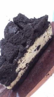 クッキー&クリームチーズケーキ