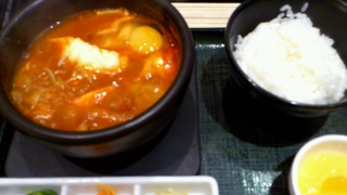 豆乳味噌スンドゥブ