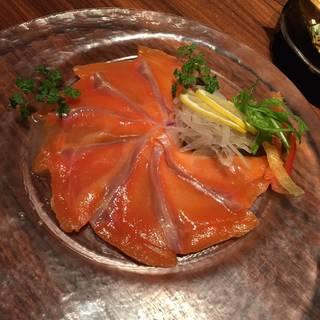 旬鮮魚のカルパッチョ