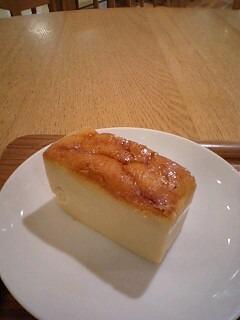 本和香糖のチーズケーキ