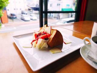 りんごのシフォンケーキ